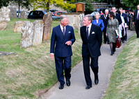 Royal visit to Bampton